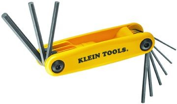 Klein Tools Grip-It® Nine Key Hex Set