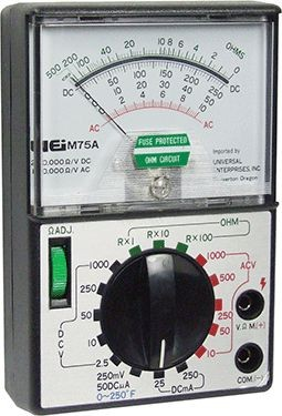 UEI - Universal Enterprises Inc M75A Analog Multimeter