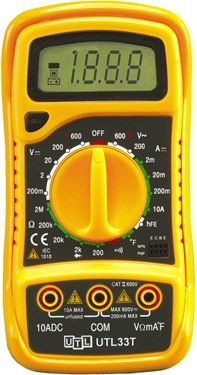 UEI - Universal Enterprises Inc UTL33T Digital Multimeter with Temperature