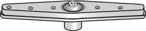Frigidaire 154219201 Dishwasher Part, Spr