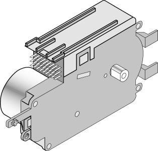 Frigidaire 154349902 Dishwasher Timer, Pl