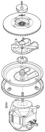 Frigidaire 154365501 Dishwasher Part, Pum