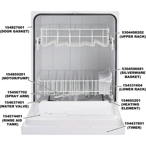 Frigidaire 154665201 Heating Element