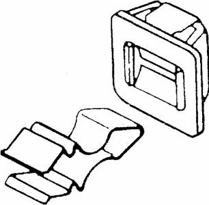 Whirlpool 279570 Dryer Part, Door Strike & Latch