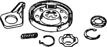 Whirlpool 285785 Washer Part, Clutch Kit