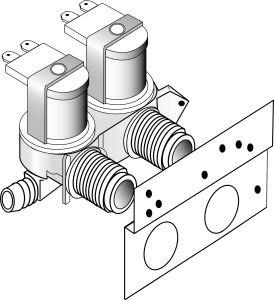 Whirlpool 285805 Water Valve, Direct Drive Washing Machine