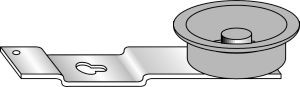 Frigidaire 3205242 Dryer Part, Idler Pull