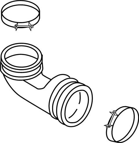 Whirlpool 3369036 Dishwasher Part, Clamp