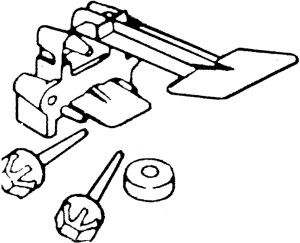 Whirlpool 350733 Washer Part, Strike & Lever