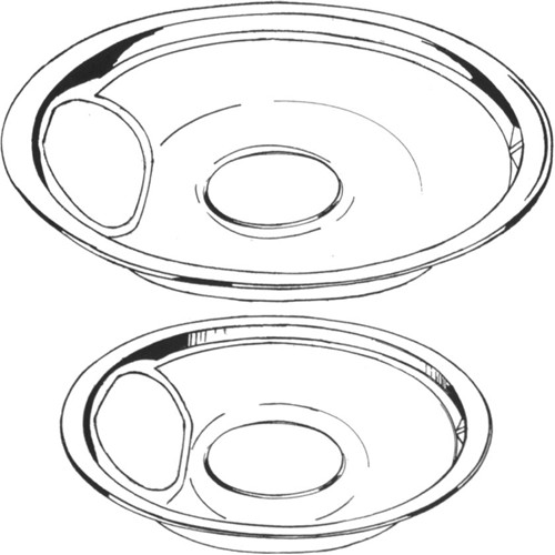 Universal 5075-6 Drip Pan, 6