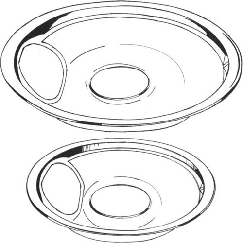 Universal 5076-8 Drip Pan, 8