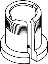 Whirlpool WP389140 Washer Part, Basket Drive Block