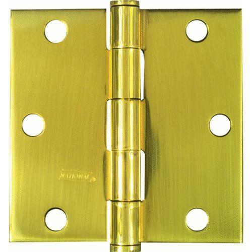 National Mfg. Residential Solid Brass Radius Corner Hinge