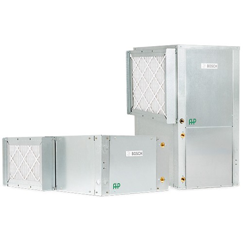 Florida Heat Pump Water Source Heat Pump Package Unit - Vertical Copper Coil Front Return