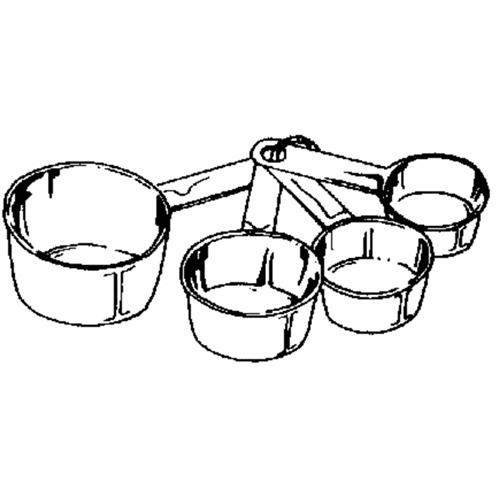Norpro 4-Piece Measuring Cup Set