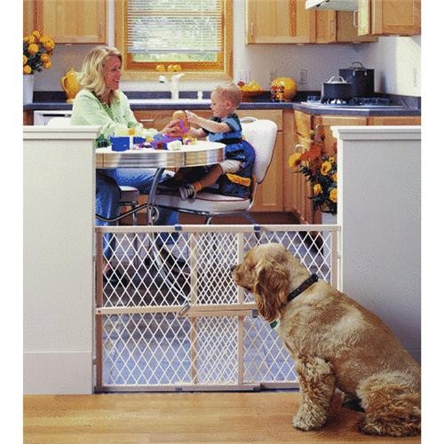 North State Ind Diamond Mesh Wood Safety Gate