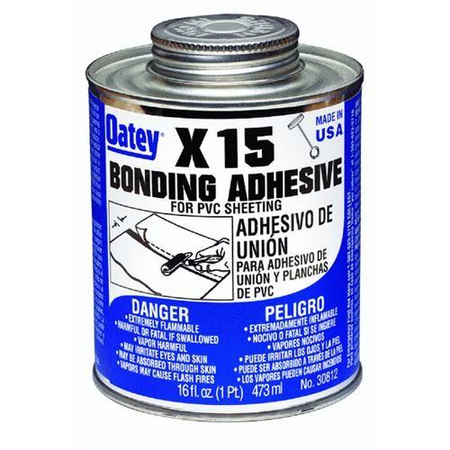 Oatey Bonding Adhesive PVC Sheeting