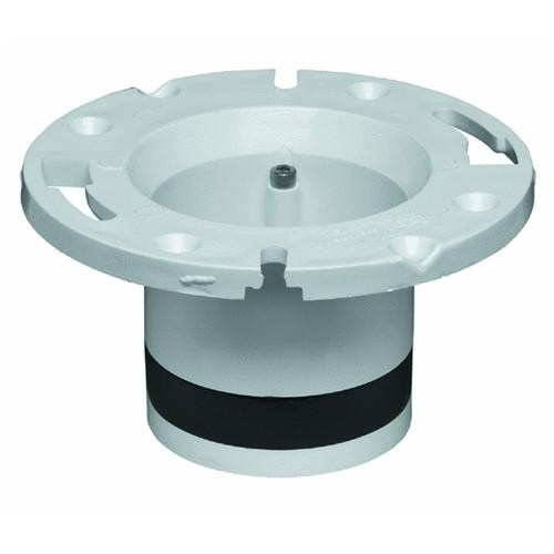 Oatey Plastic Replacement For Cast-Iron Closet Flanges