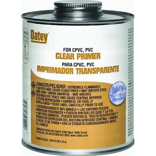 Oatey Clear Primer PVC Cement