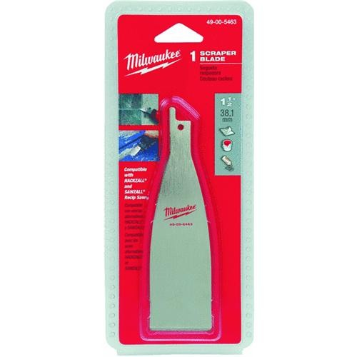 "Milwaukee Accessory 1-1/2"" Reciprocating Saw Scraper Blade"