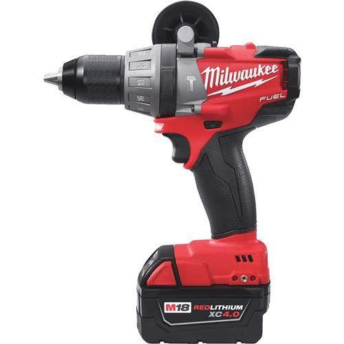 Milwaukee Elec.Tool Milwaukee M18 FUEL Brushless XC Lithium-Ion Cordless Hammer Drill Kit