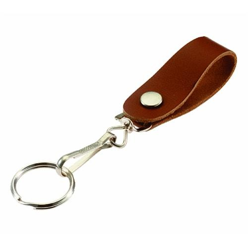 Lucky Line Leather Belt Hook Key Ring