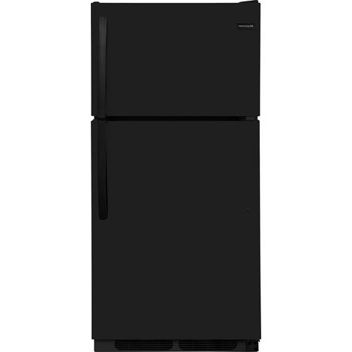 Frigidaire 15 C/F Refrigerator with Top Freezer, Energy Star, Wire Shelves, No Ice Maker, ADA Compliant, FFHT1514TB, Black