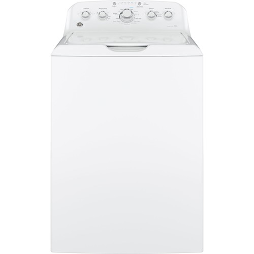 General Electric Top Load Washer 4.2 C/F, Stainless Steel Basket, 14 Cycles, GTW460ASJWW, White