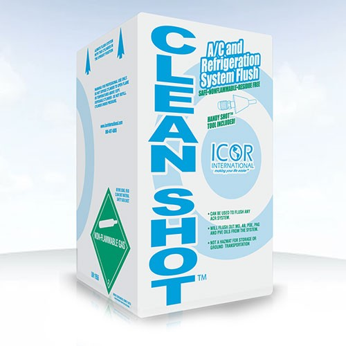 Icor International ACR System Flush, 5 lb Cylinder