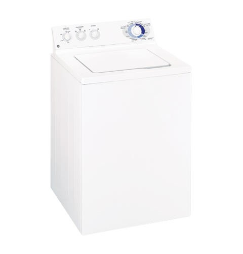 General Electric Top Load Washer 3.2 C/F, 17 Cycles, WCSR4170DWW, White