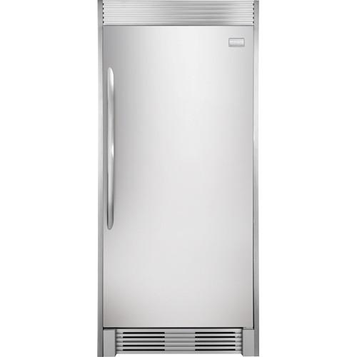 Frigidaire Gallery 19 C/F Single Door Refrigerator, FGRU19F6QF, Stainless Steel