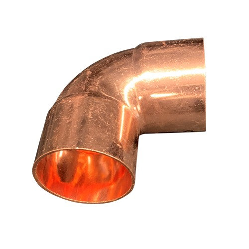 AllTek 90 Degree Copper Elbow Close Rough
