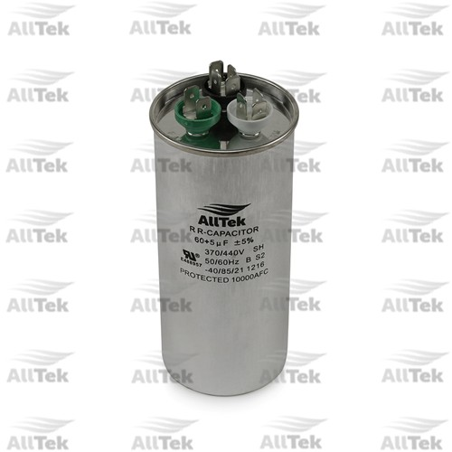 AllTek 60+5UF 370-440V  DUAL RUNNING CAPACITOR DUAL VOLTAGE OVAL