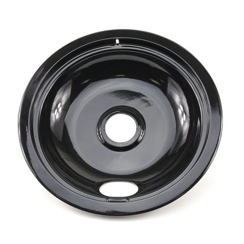 AllTek Drip Pan 8 Universal Black Porcelain