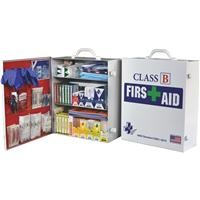 CERTIFIED SAFETY MFG Class B ANSI & OSHA Certified Cabinet First Aid Kit (379-Piece)