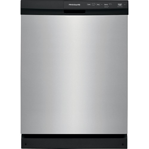 "Frigidaire 24"" BUILT IN DISHWASHER Energy Star, 4 Cycle, Electric Control, FFCD2413US, Stainless Steel"