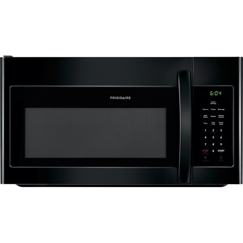 Frigidaire Microwave 1.6 C/F, Over-The-Range, FFMV1645TB, Black