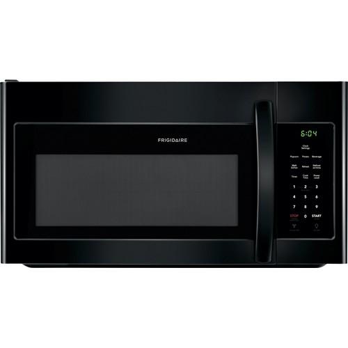 Frigidaire Microwave 1.6 C/F, Over-The-Range, FFMV1645TB, Black