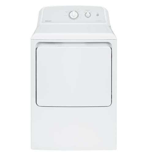 Hotpoint 6.2 C/F Electric Dryer, Aluminized Alloy Drum, 4 Cycles, HTX24EASKWS, White