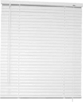 Designer's Touch 1 in. PVC Vertical Blinds White - 35 in. W x 64 in. L