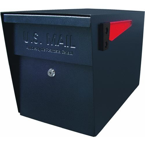 Mail Boss Black Locking Mailbox