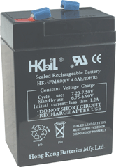 National Brand Alternative Emergency/Exit Light  Rechargeable Battery 6 Volt 6 AMP