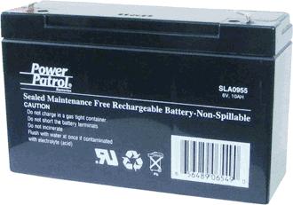 Interstate Battery Exit Light Security System Battery 6V 10 A