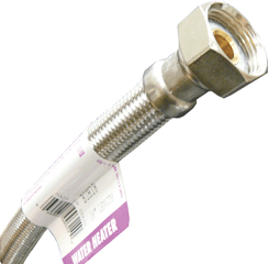 Fluidmaster Flexible Stainless Steel Water Heater Connectors3/4