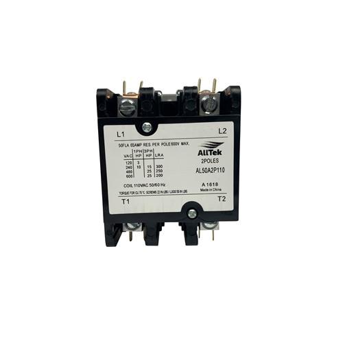 AllTek Contactor 50 A 120 VAC 2 Pole