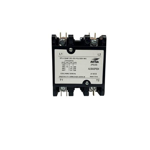 AllTek Contactor 50 A 24 VAC 2 Pole