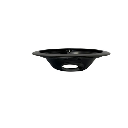 AllTek Drip Pan, Black Porcelain, Direct Replacement for GE