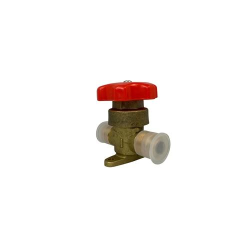AllTek Manual Shut-Off Valves Copper Pipe - Flare