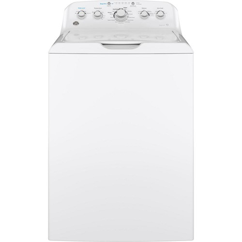 General Electric Top Load Washer 4.6 C/F, Stainless Steel Basket, 13 Cycles, GTW500ASNWS, White
