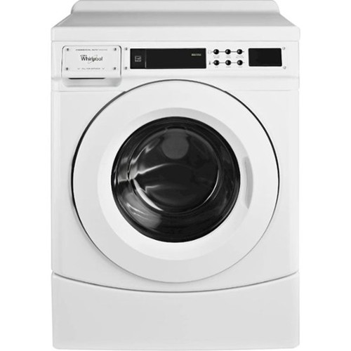 Whirlpool Commercial Front Load Washer 3.1 C/F, Non Coin Operated,  CHW9160GW, White